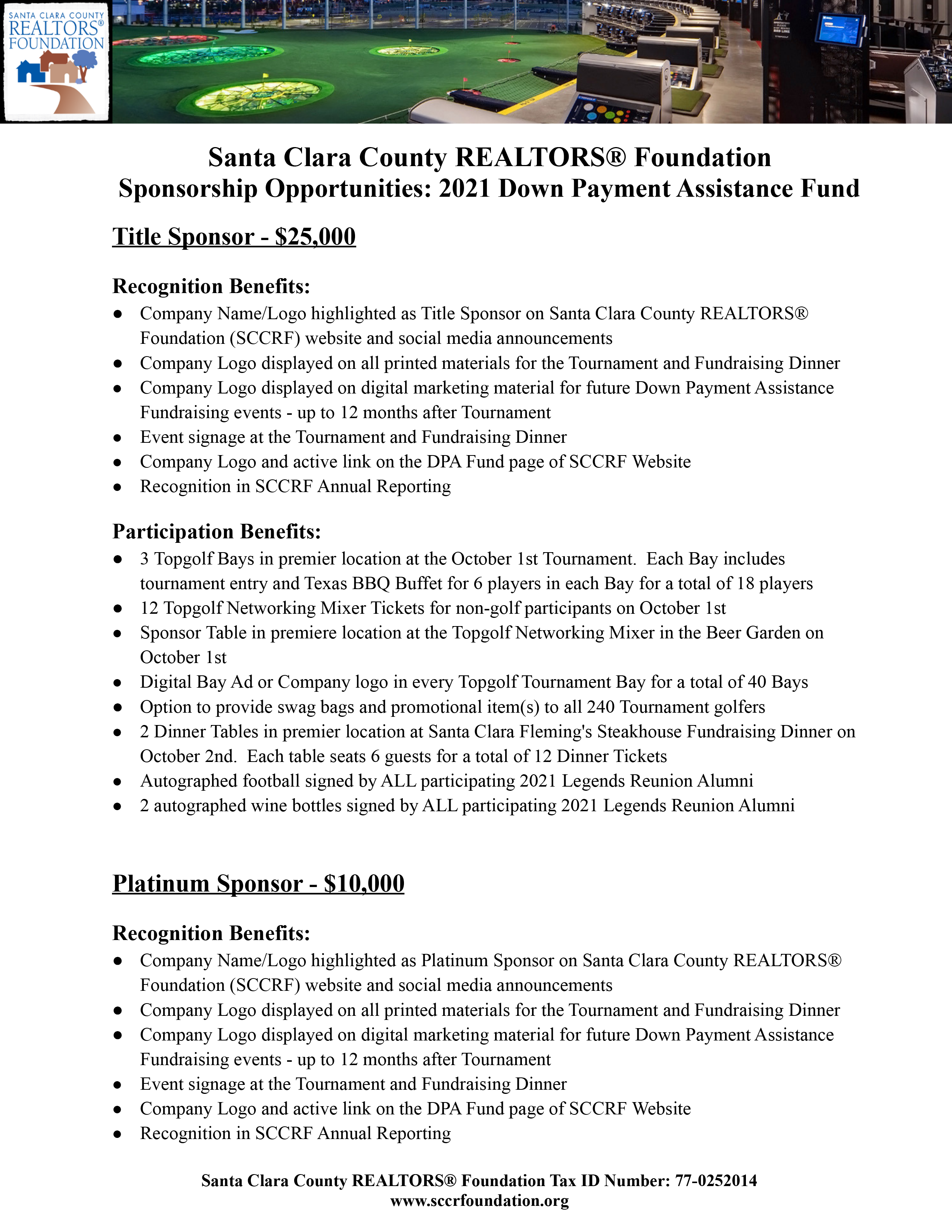 2021.10 SCCRF DPA Fundraisers – Sponsorship Pg1